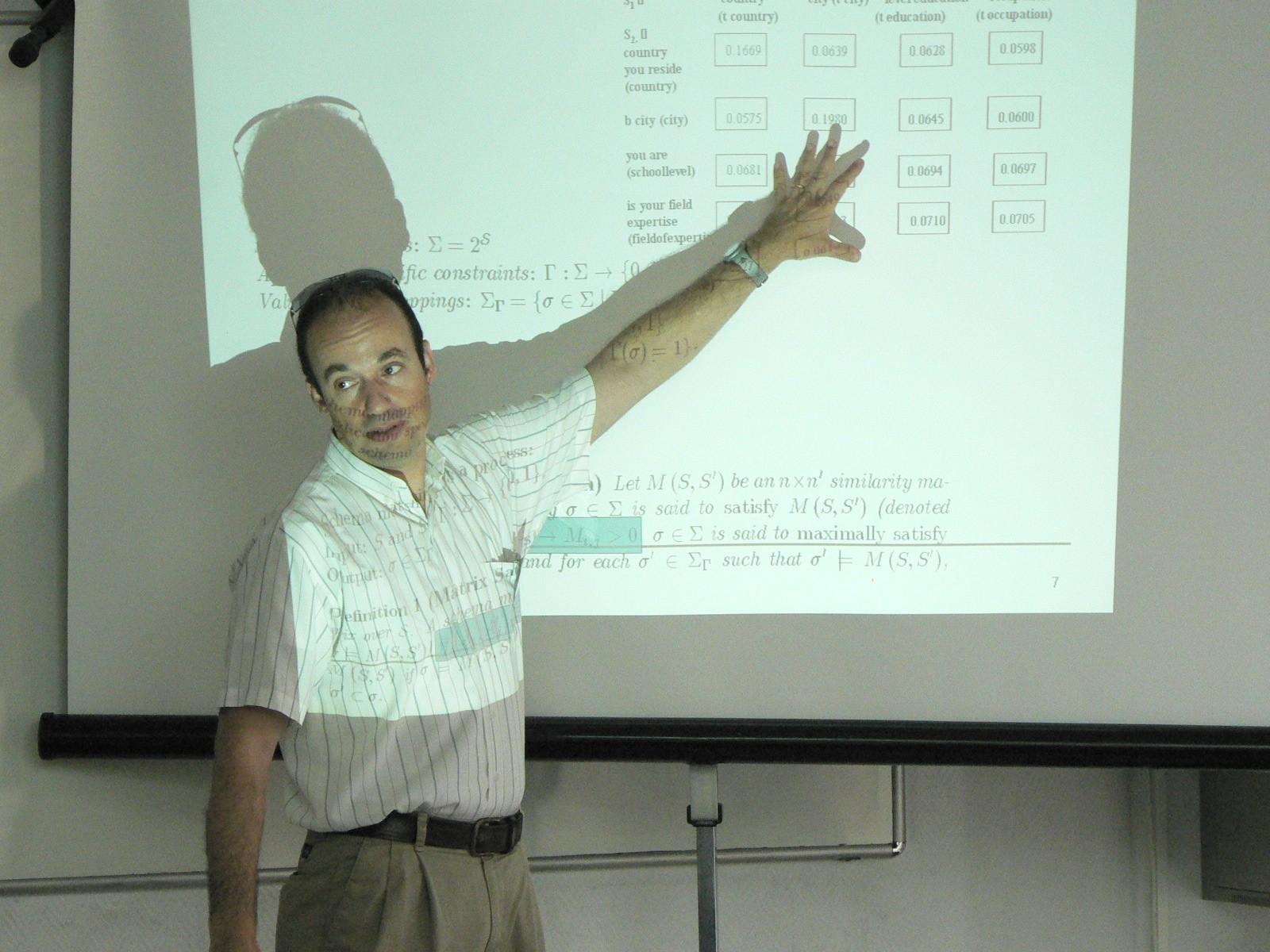 Avigdor Gal - ILAIS2007